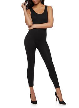 Sleeveless Basic Jumpsuit - 3045058752831