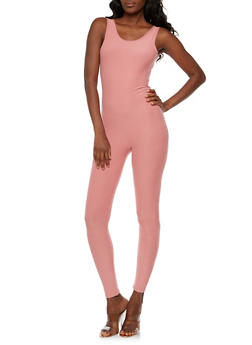Soft Knit Solid Catsuit - 3045061632471