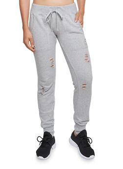 Almost Famous Distressed Joggers - 3056015993542
