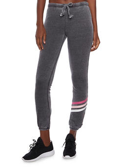 Almost Famous Joggers with Stripe Detail - 3056015999433