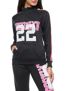 Brooklyn 22 Graphic Sweatshirt - 3056038342729