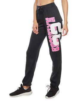 Brooklyn 22 Graphic Sweatpants - 3056038342730