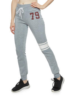 79 Graphic Fleece Sweatpants - 3056038342736