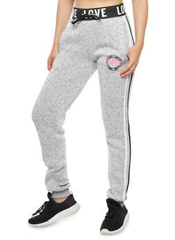 Love Athletic Graphic Sweatpants - 3056051061039