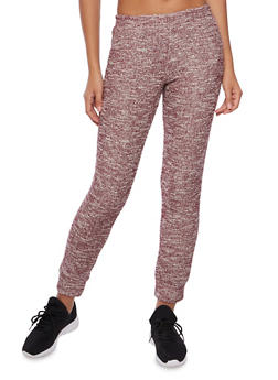 Marled Knit Joggers - 3056054266804
