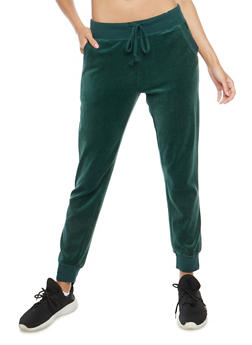 Velour Joggers - HUNTER - 3056054266890