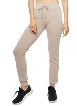 Solid Basic Sweatpants - 3056072290195