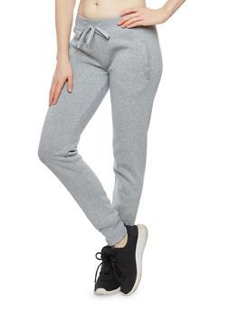 Fleece Lined Sweatpants - 3056072292076