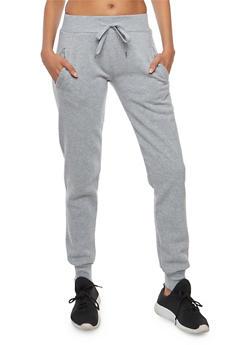 Tapered Fleece Sweatpants - 3056072292170
