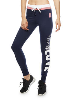 Love Graphic Joggers - 3056072296600