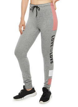 Love Graphic Jogger Pant - 3056072297500