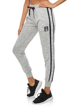 Marled Love Graphic Joggers - 3056072298200