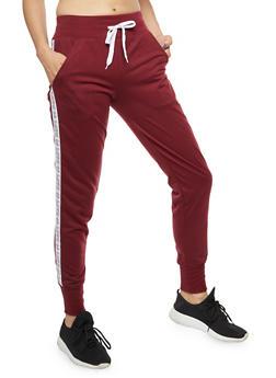 Love Stripe Sweatpants - 3056072298600