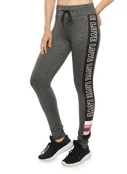 Love Graphic Jogger Pant - 3056072299200