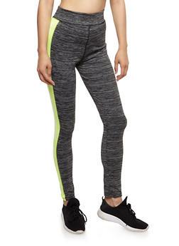Work It Graphic Athletic Leggings - 3058038341403