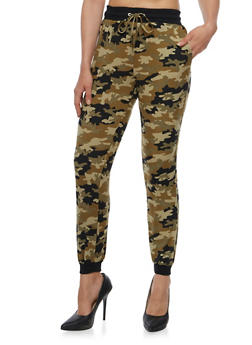 Camo Printed Joggers - 3061001442212