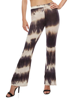 Flared Tie Die Pants - 3061020623642