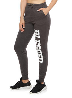 Blessed Graphic Joggers - 3061033870881