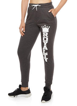 Royalty Graphic Joggers - 3061033870884