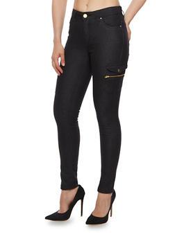 Twill Cargo Skinny Pants - 3061051063513