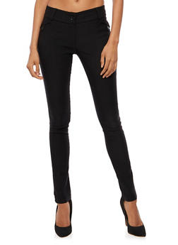 Straight Leg Dress Pants - 3061062416569