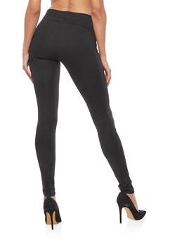 Pull On Ponte Skinny Push Up Pants - 3061062701583