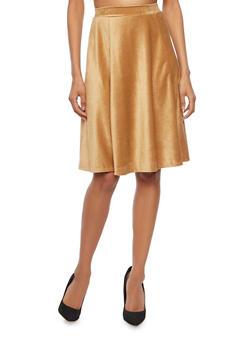 Skater Skirt in Stretch Corduroy - 3062020623344