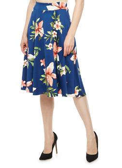 Floral Circle Skirt - 3062020624914