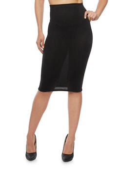 Knit Pencil Skirt - 3062020629544