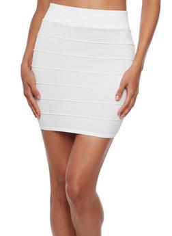 Bandage Mini Skirt - 3062058938014