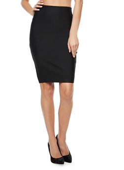 Bandage Pencil Skirt - 3062074016793