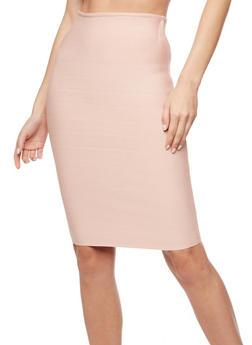 Bandage Pencil Skirt - 3062074016793