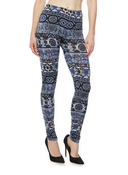 Leggings in Baroque Print - 3066062901960