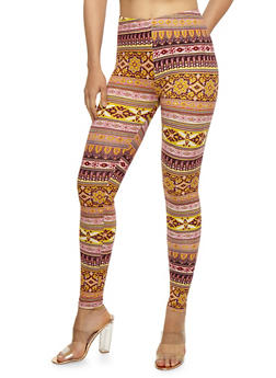 Printed Leggings - 3066062907186