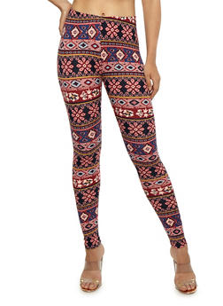 Printed Leggings - 3066062907193