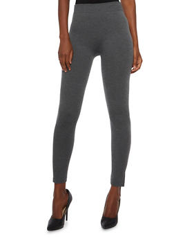 Solid Knit Leggings - 3069041458122