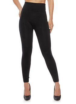Seamless Leggings with Fleece Lining - 3069059161260