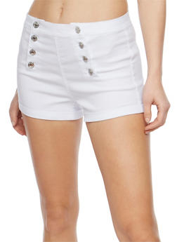 Solid Sailor Shorts - WHITE - 3070015990059