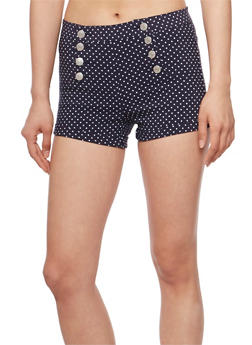 Printed Sailor Shorts - 3070015999059