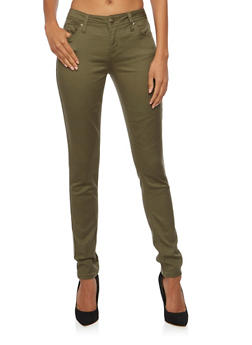 Stretch Skinny Pants - 3074015991612