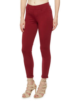 Tailored Pants with Fixed Cuffs - CABRENET - 3074056570025