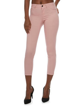 Push Up Stretch Knit Skinny Jeans - 3074056571991