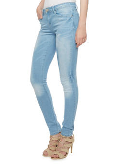 Skinny Jeans in Faded Wash - 3074061658360