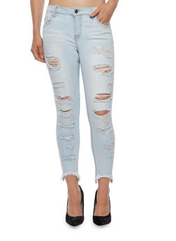 Cello Frayed Jeans - 3074063155593