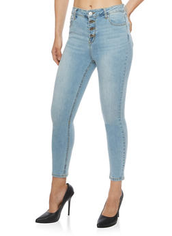 Cello Medium Wash Skinny Jeans - 3074063155600