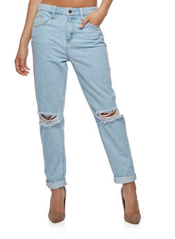 Cello Ripped Knees Jeans - 3074063155615