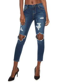 Cello Destroyed Skinny Jeans - 3074063155694