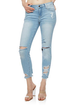 Cello Light Wash Skinny Jeans - 3074063157443