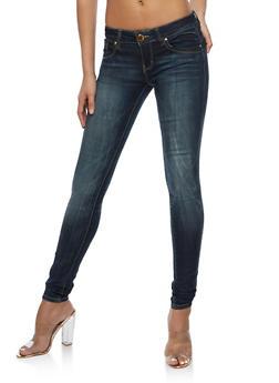VIP Whisker Wash Skinny Jeans - 3074065301731