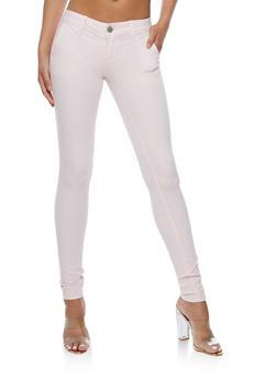 VIP Blush Skinny Jeans - 3074065301844